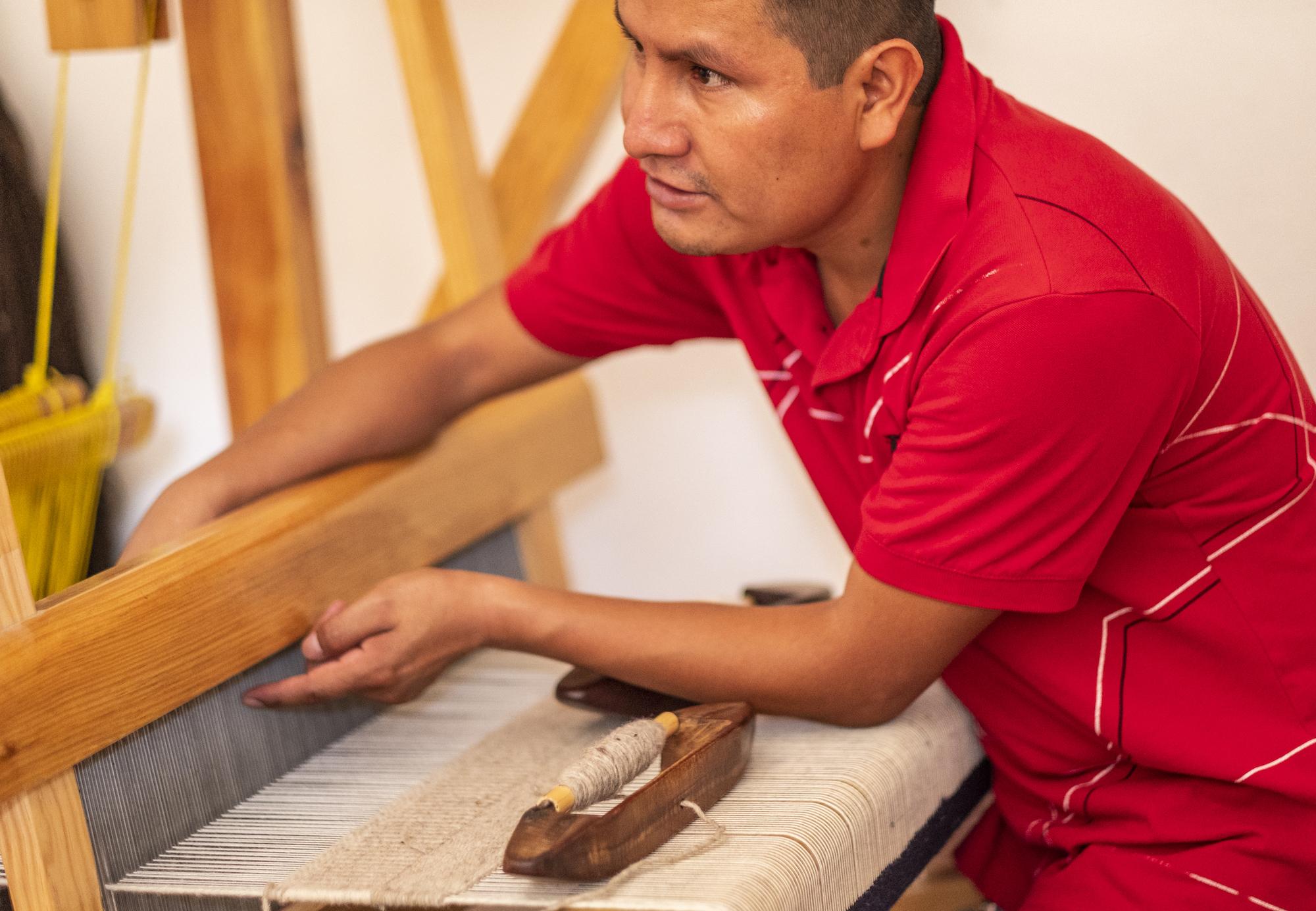 Rolando; handicraft; partner