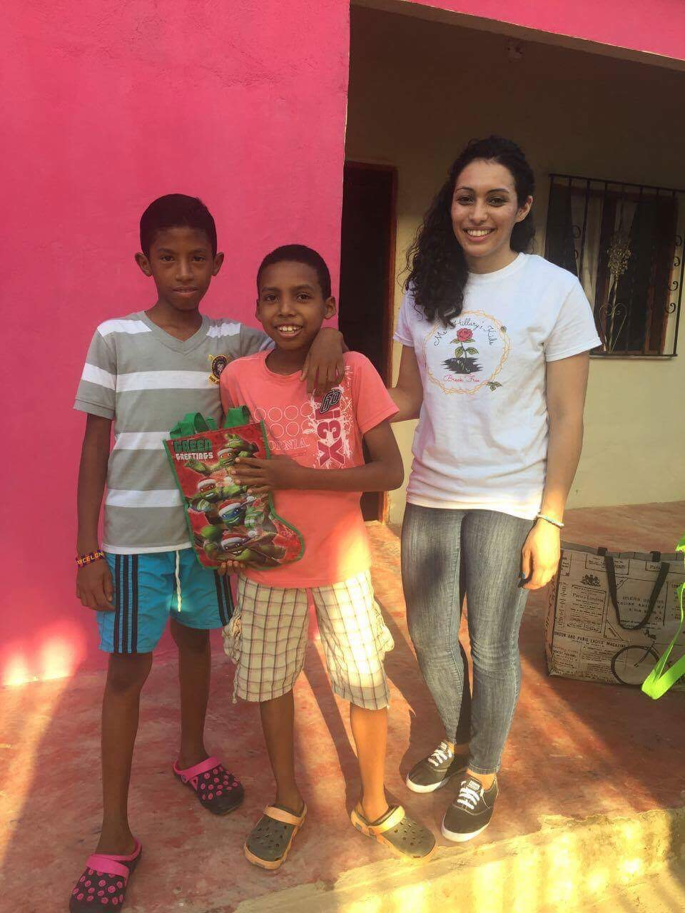 Mentee Arleen giving back in Colombia 2