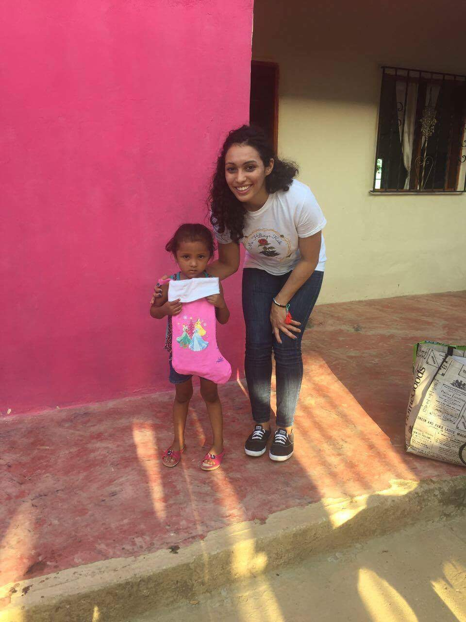 Mentee Arleen giving back in Colombia 3