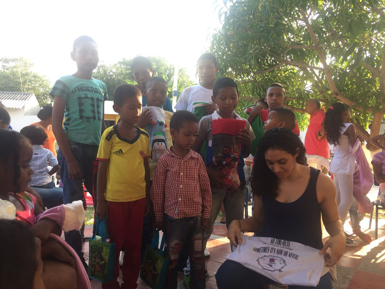 Mentee Arleen giving back in Colombia 5