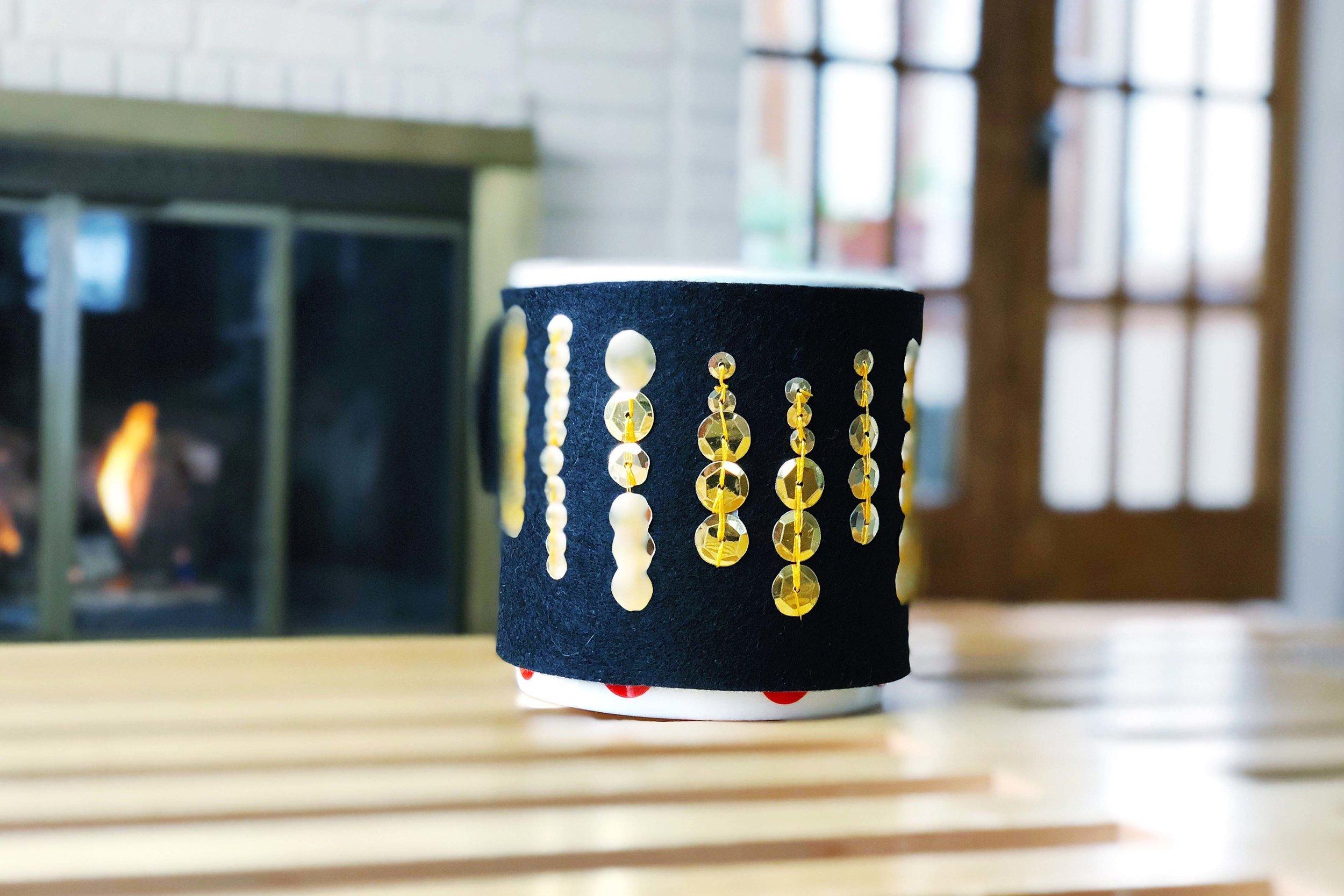 RBG Dissent Collar Coffee Cozy