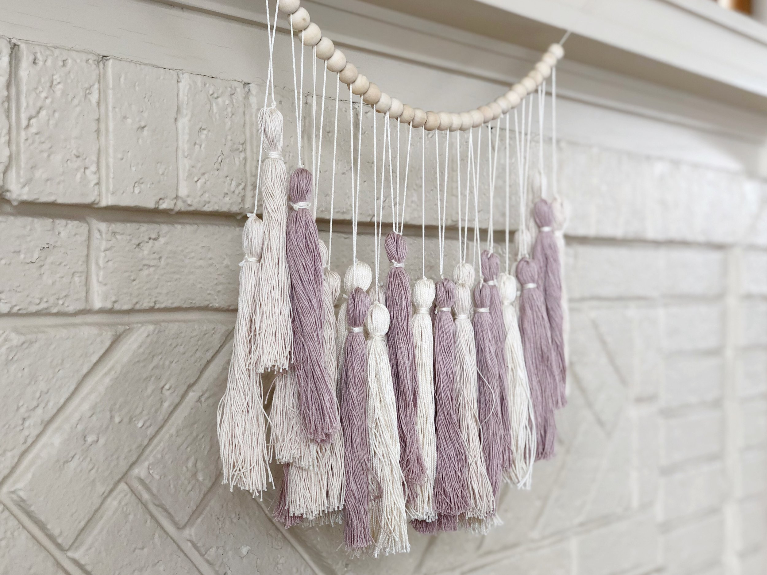 Pottery Barn Hack: DIY Tassel Garland (and save $60!!)
