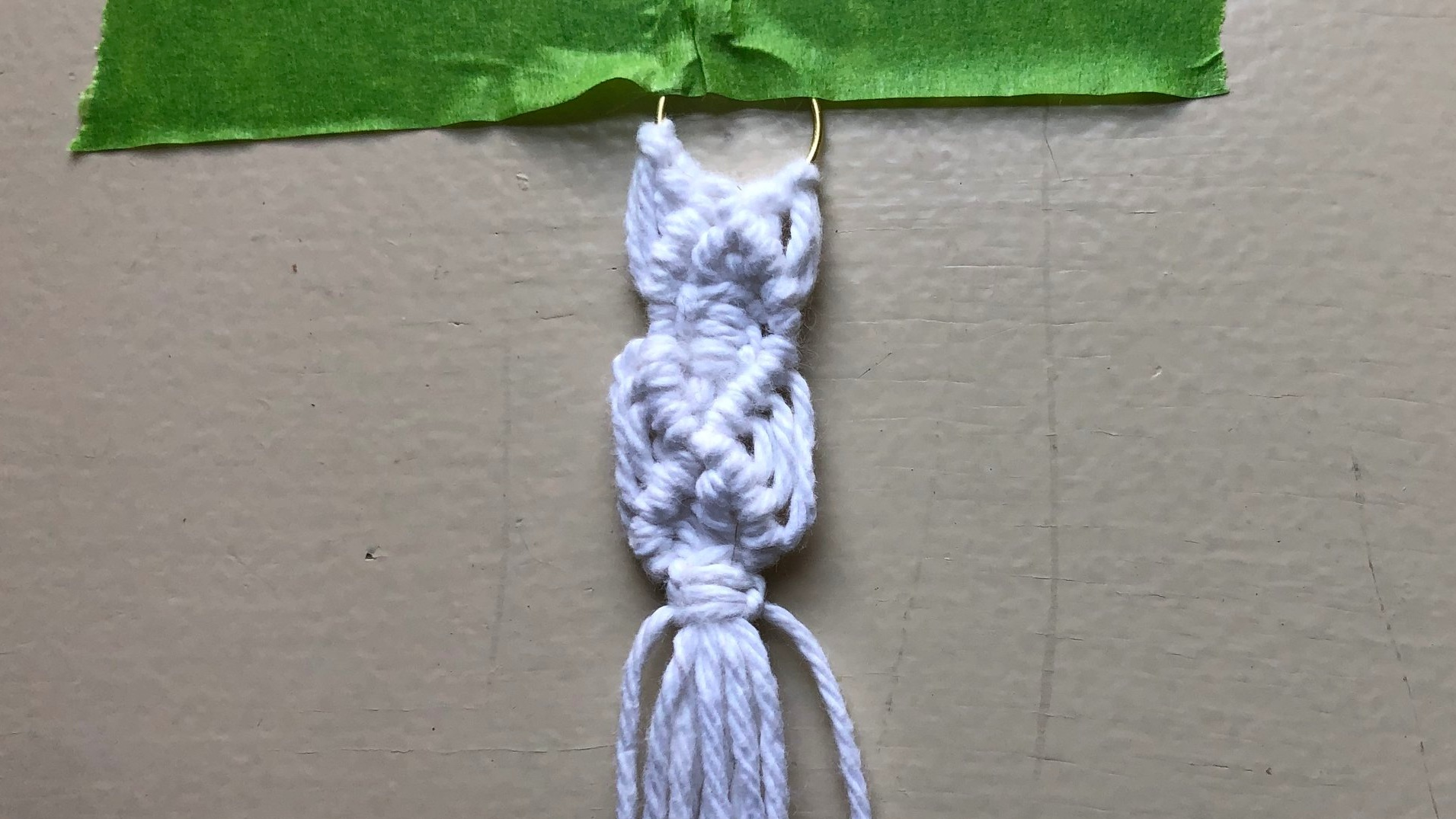 Two square knots