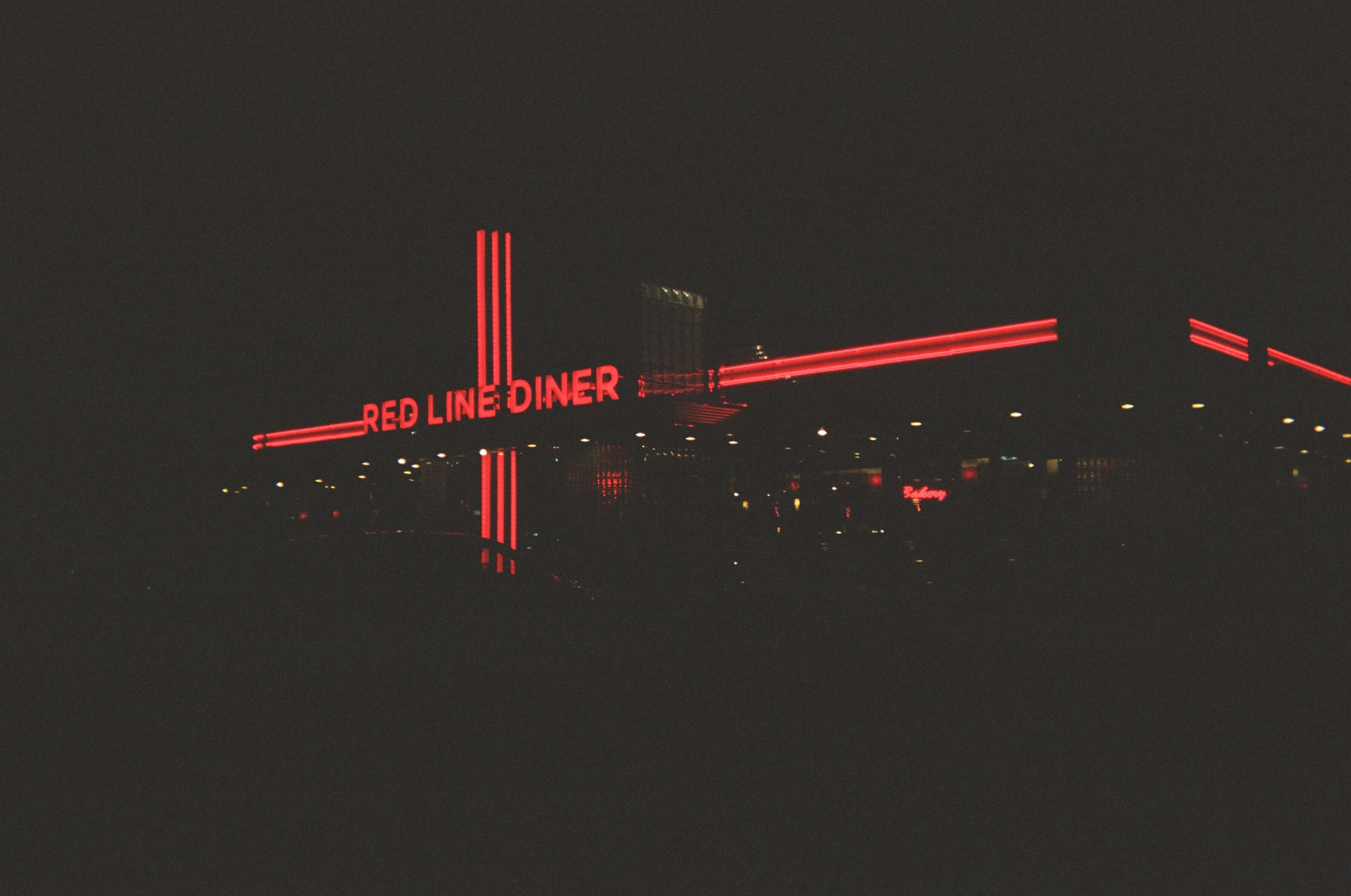 A diner we frequented during our stay–Red Line Diner.