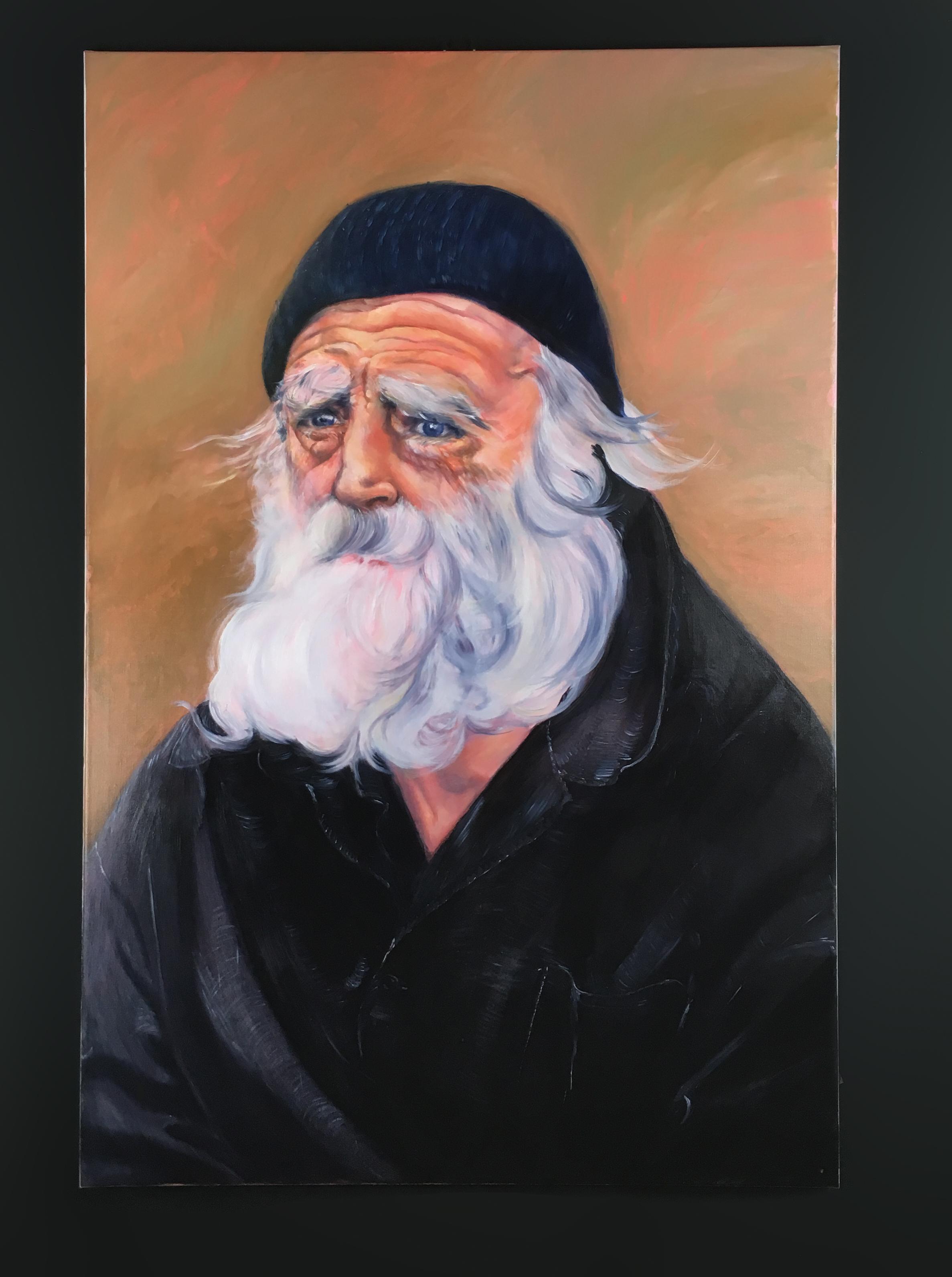 """Dissimulation - Huile sur toile, 150 x 100 cm, Toulouse, 2019Série """"Poétiques Peintures"""""""
