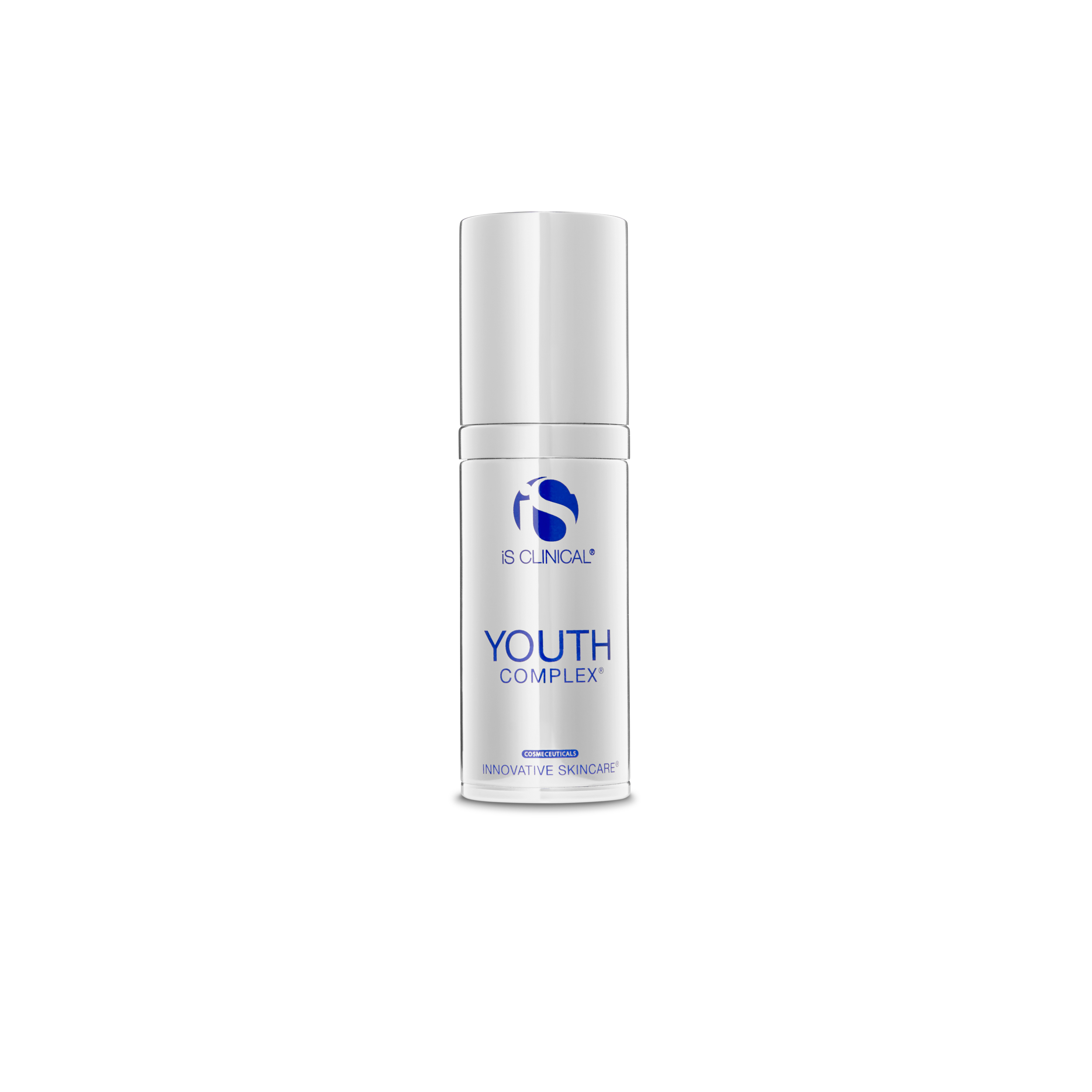 """YOUTH COMPLEX is the first cosmeceutical formulation to offer immediate, intermediate, and long-term visible improvements to aging skin. This breakthrough formula is a unique blend of potent antioxidants, innovative natural hydrators, and our exclusive bio-complex that addresses targeted aging phenomena with clinical precision. YOUTH COMPLEX provides rapid initial hydration for visible """"plumping"""" of fine lines and wrinkles, promotes controlled exfoliation, and is clinically proven to support the foundation of healthy skin.  BENEFITS • Reduces the appearance of fine lines and wrinkles • Smoothes and softens • Visibly firms and tightens • Provides immediate, intermediate, and long-term visible improvements • Provides antioxidant protection • Paraben-free"""
