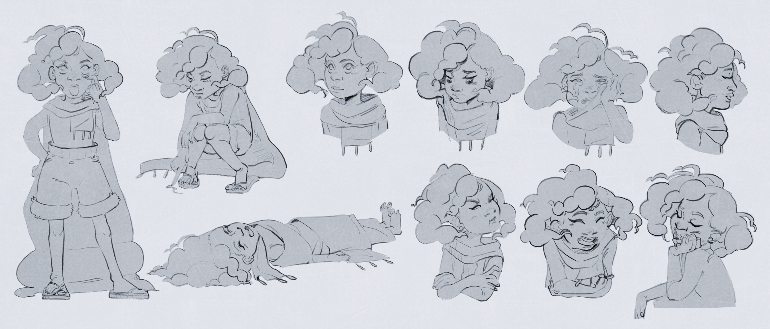 Character Designs -
