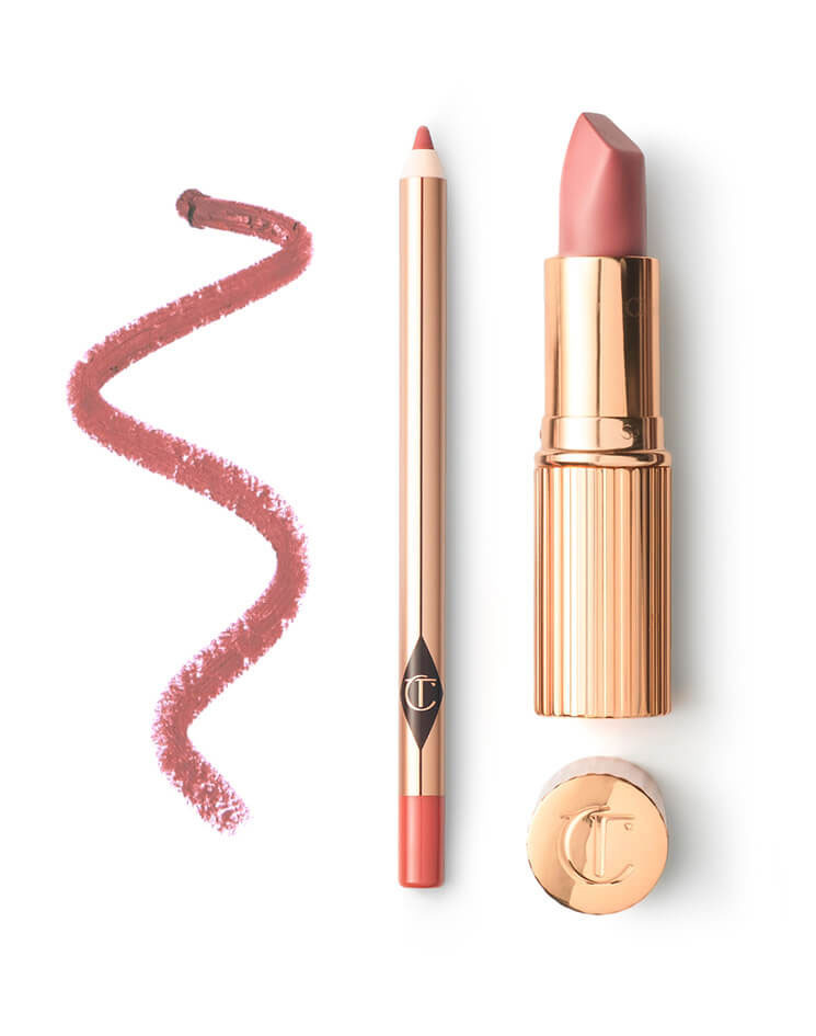 Mothers Day blog - Charlotte Tilbury 3 lipstick and liner.JPG