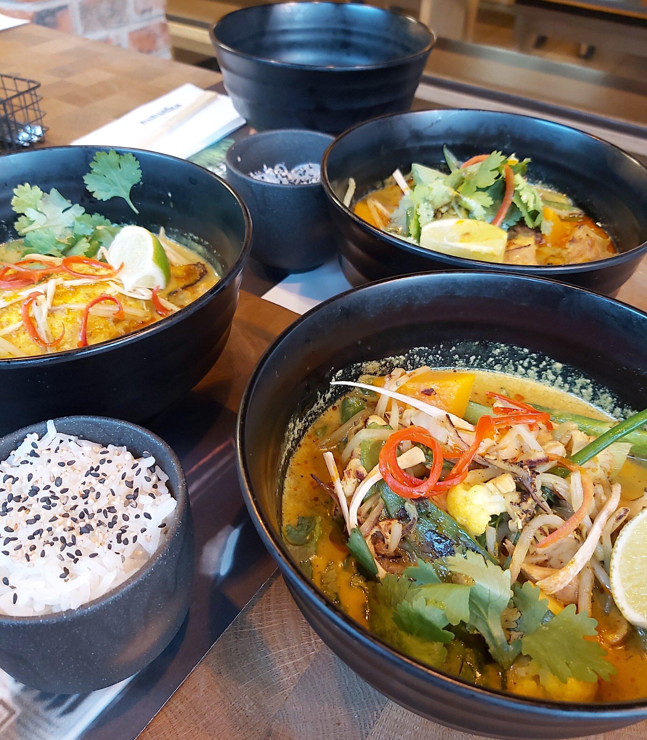 Wagamama's New Nikko Curry Three Ways: Chicken, Tofu & Sea Bream