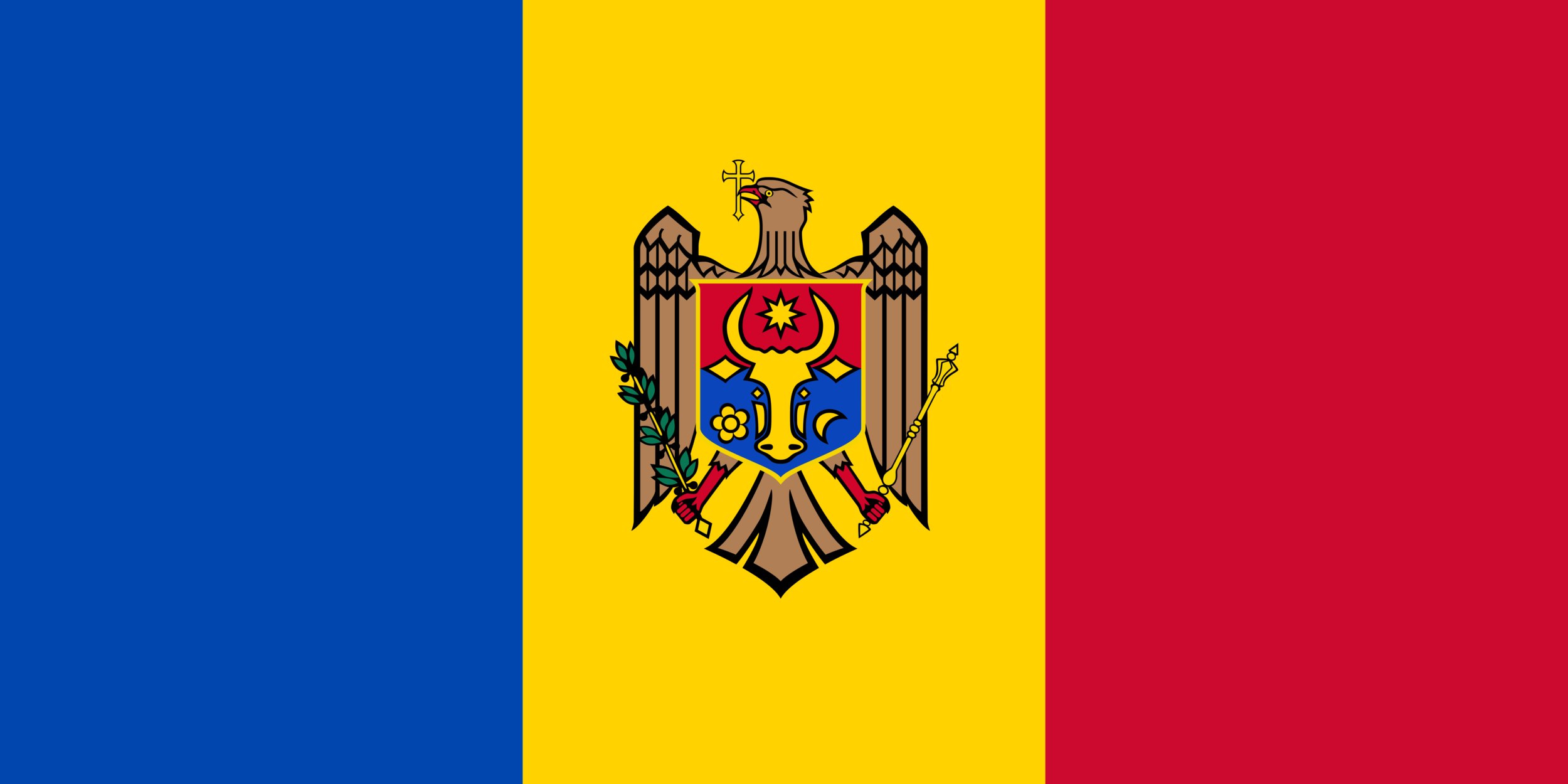 DRAPELUL REPUBLICII MOLDOVA -