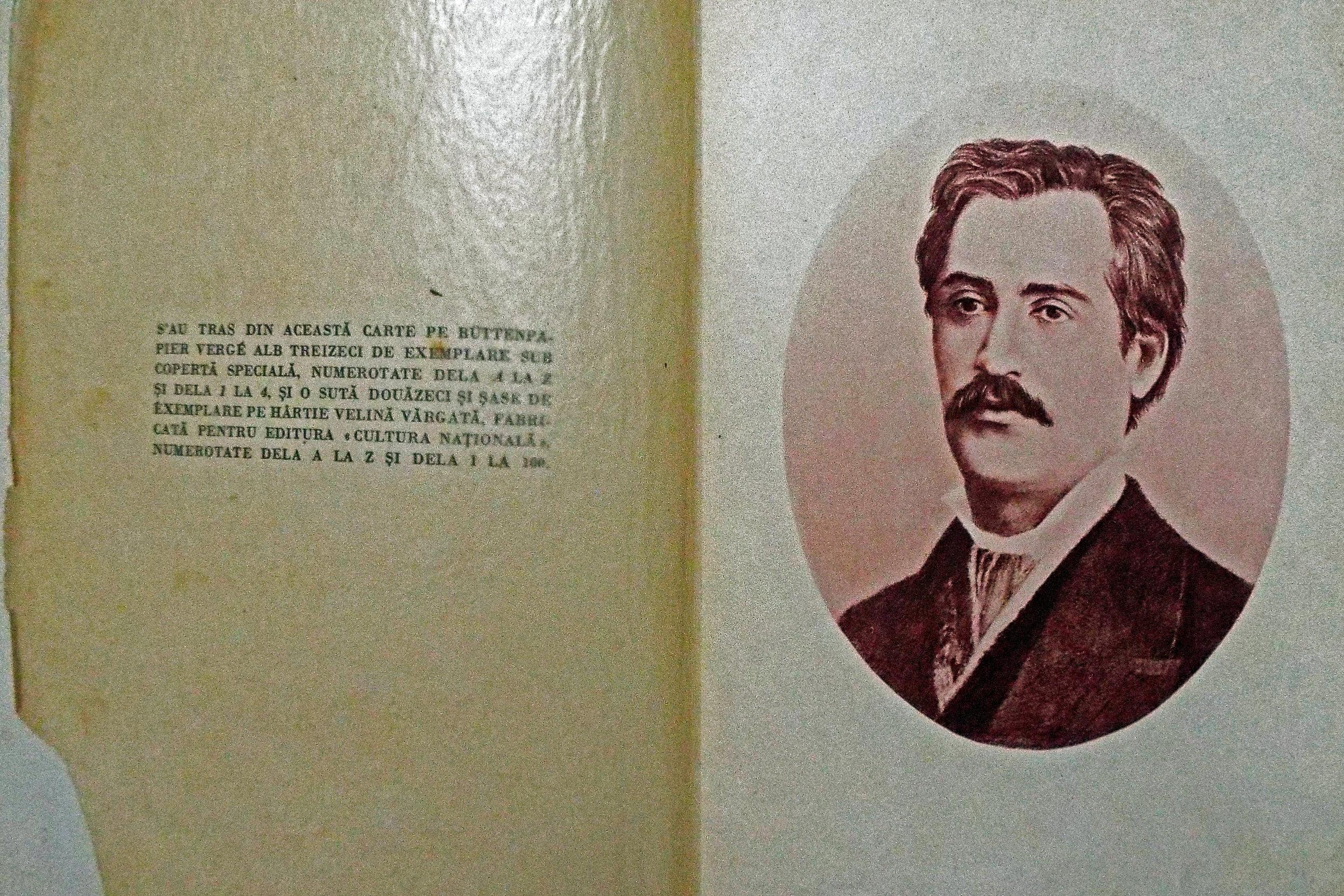Pagina Foto Eminescu si pagina exemplare.JPG