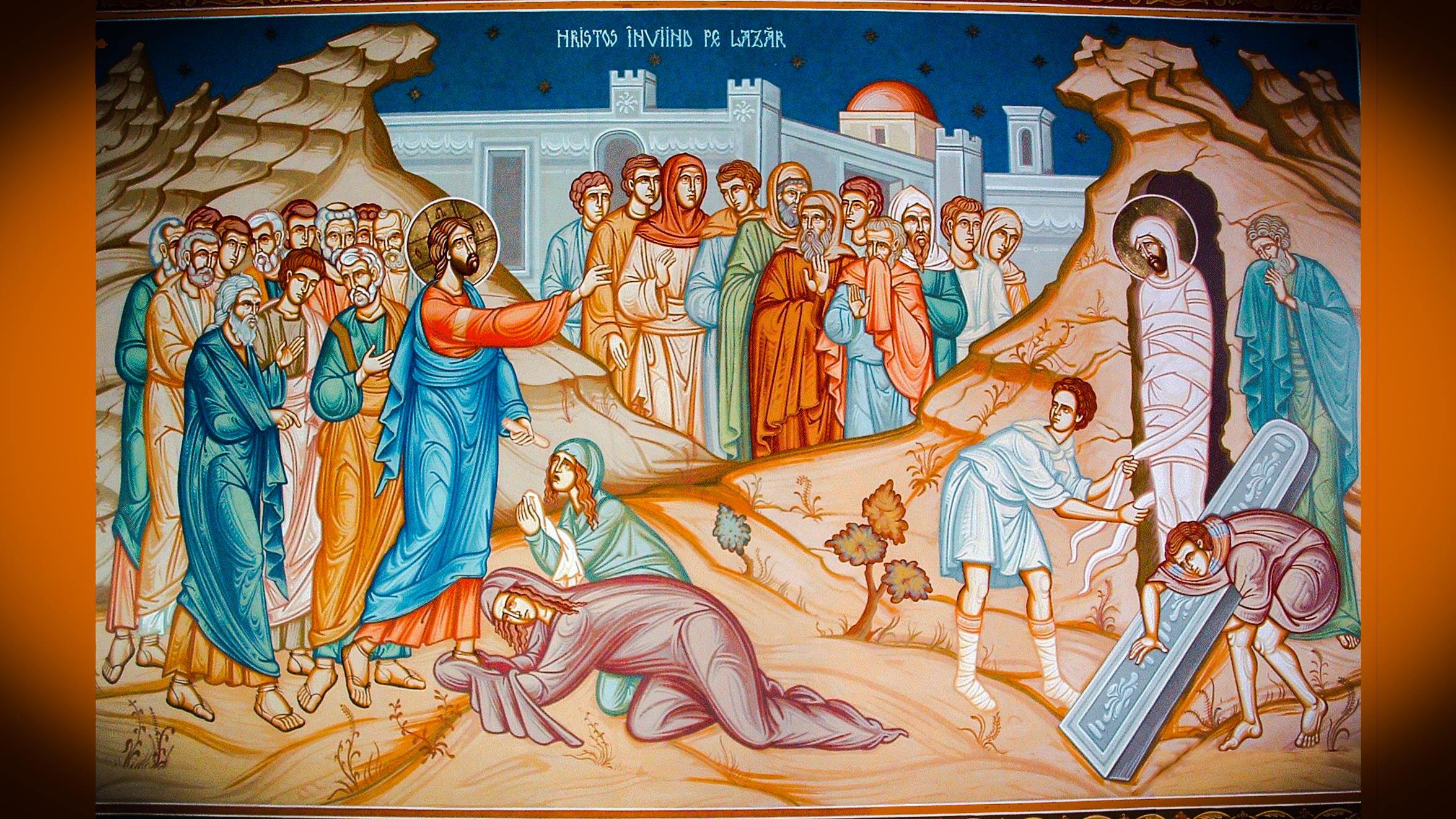 Sfânta Icoană cu învierea lui Lazăr din Betania