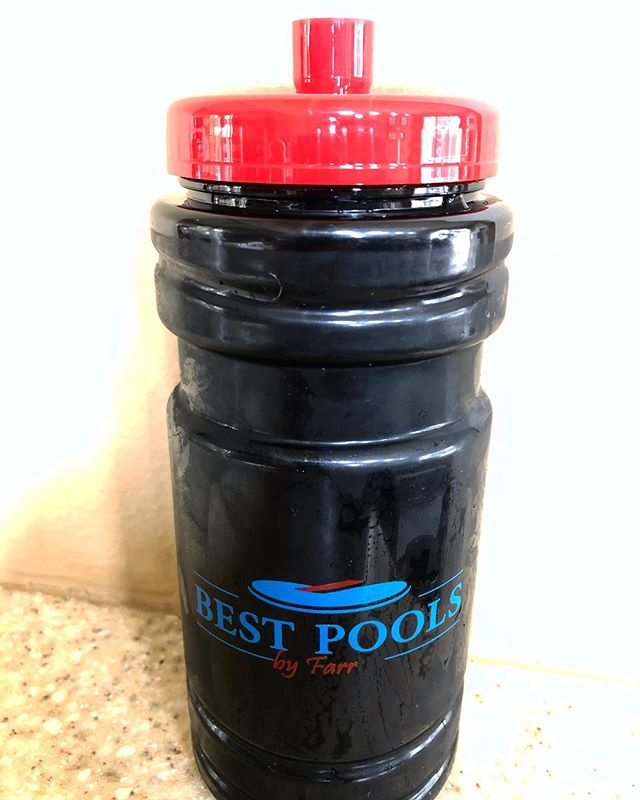 In need of a new bottle to hide what you're drinking while you and the kids play in the pool? Or maybe a new vessel for your protein shake? Just a good old fashioned water bottle? Shoot us a message and anyone in Palm Beach County will get one delivered! #BestPoolsbyFarr