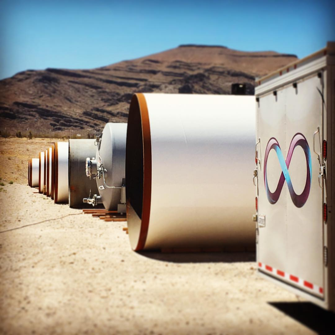 """Site visit to the Virgin Hyperloop One """"Apex"""" heavy manufacturing facility in North Las Vegas, NV."""