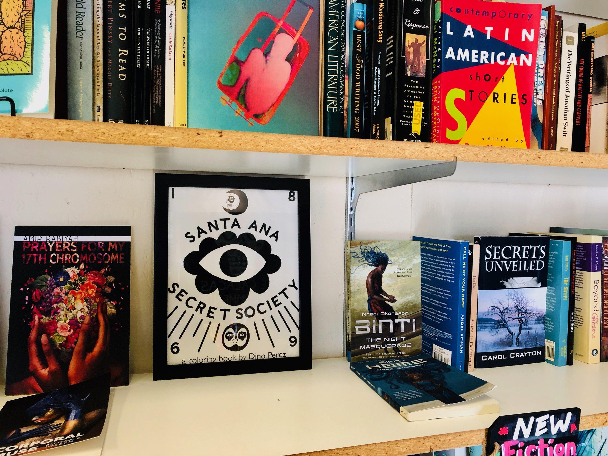 At  Libro Mobile . Santa Ana, California.