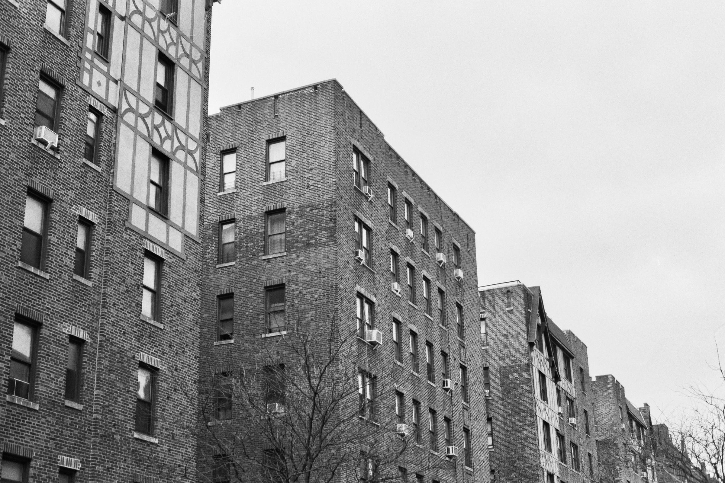 Highbridge, The Bronx.  Details :  film, 35mm Ilford Delta 400. Pentax K1000. Fletcher Berryman, 2018.