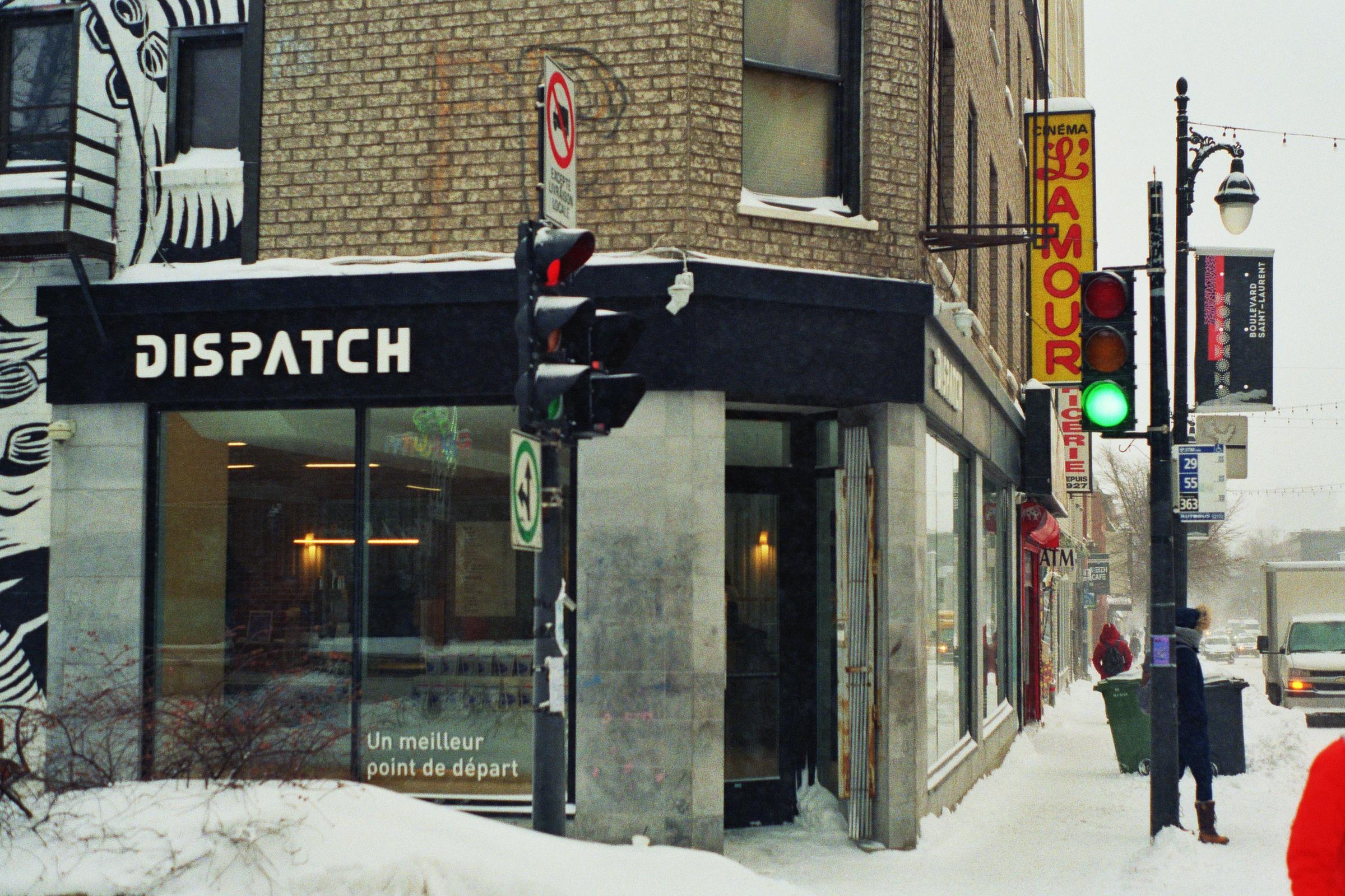 Dispatch, on St Laurent.  Kodak Ultra Max 400. Pentax K1000. Fletcher Berryman 2019.