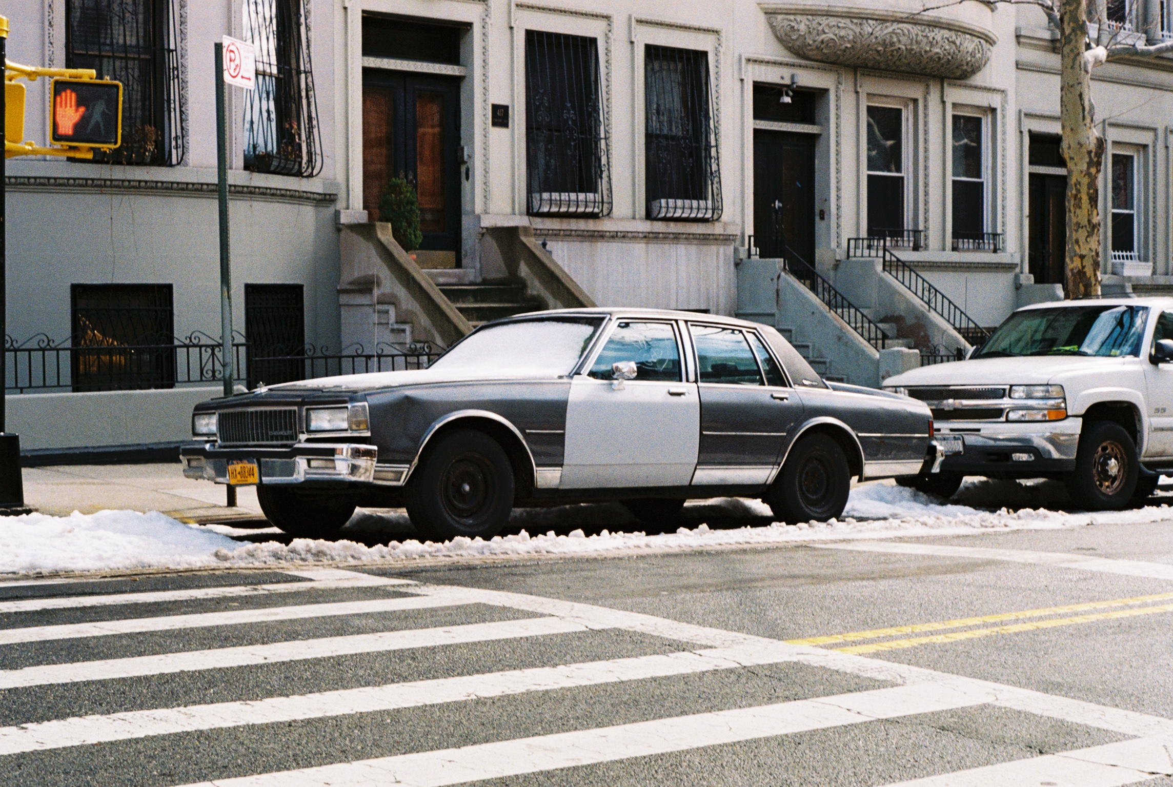 Sugar Hill, Manhattan.  Kodak Ultra Max 400. Pentax K1000. Fletcher Berryman 2019.