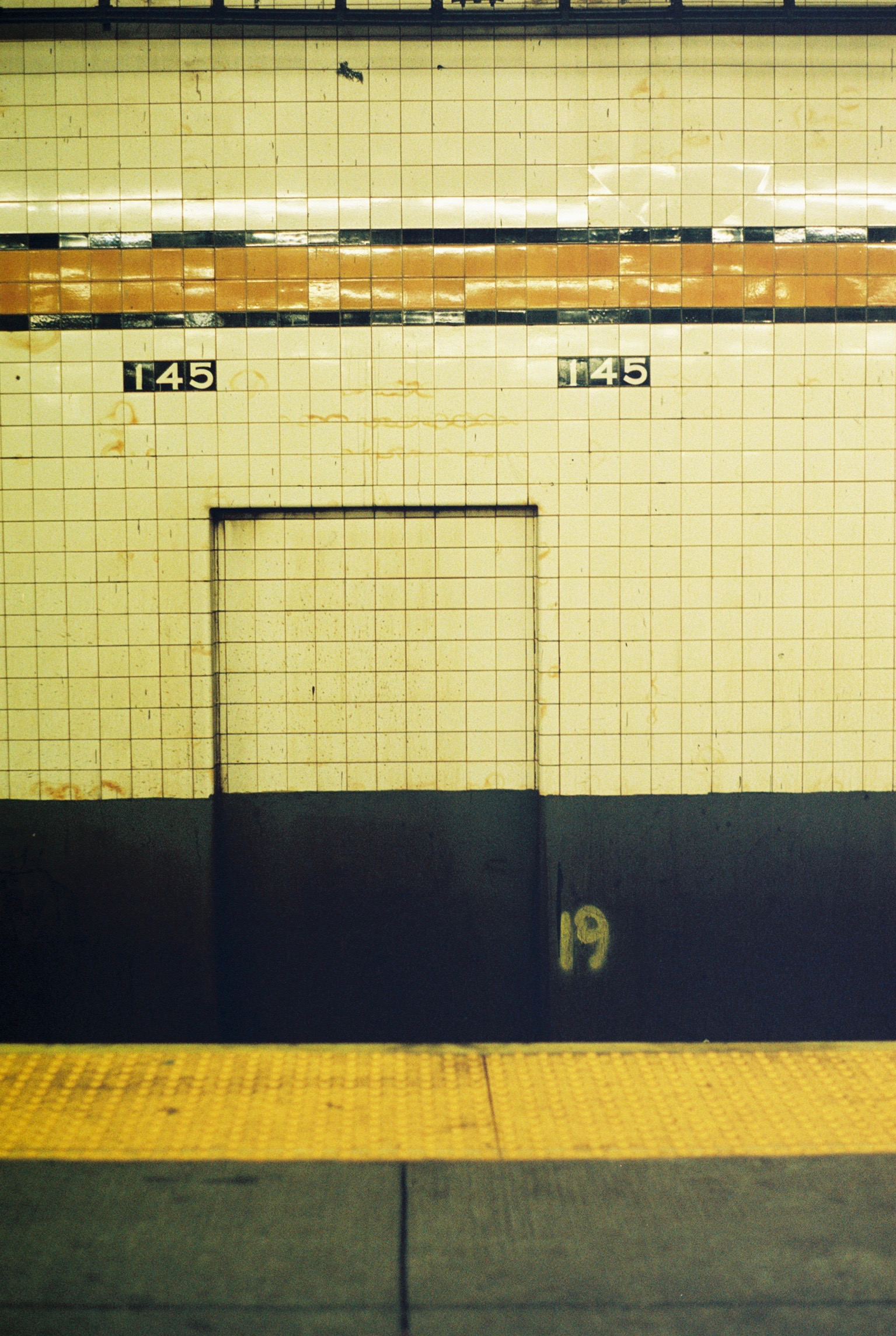 155th St Station. Sugar Hill, Manhattan.  Kodak Ultra Max 400. Pentax K1000. Fletcher Berryman 2019.