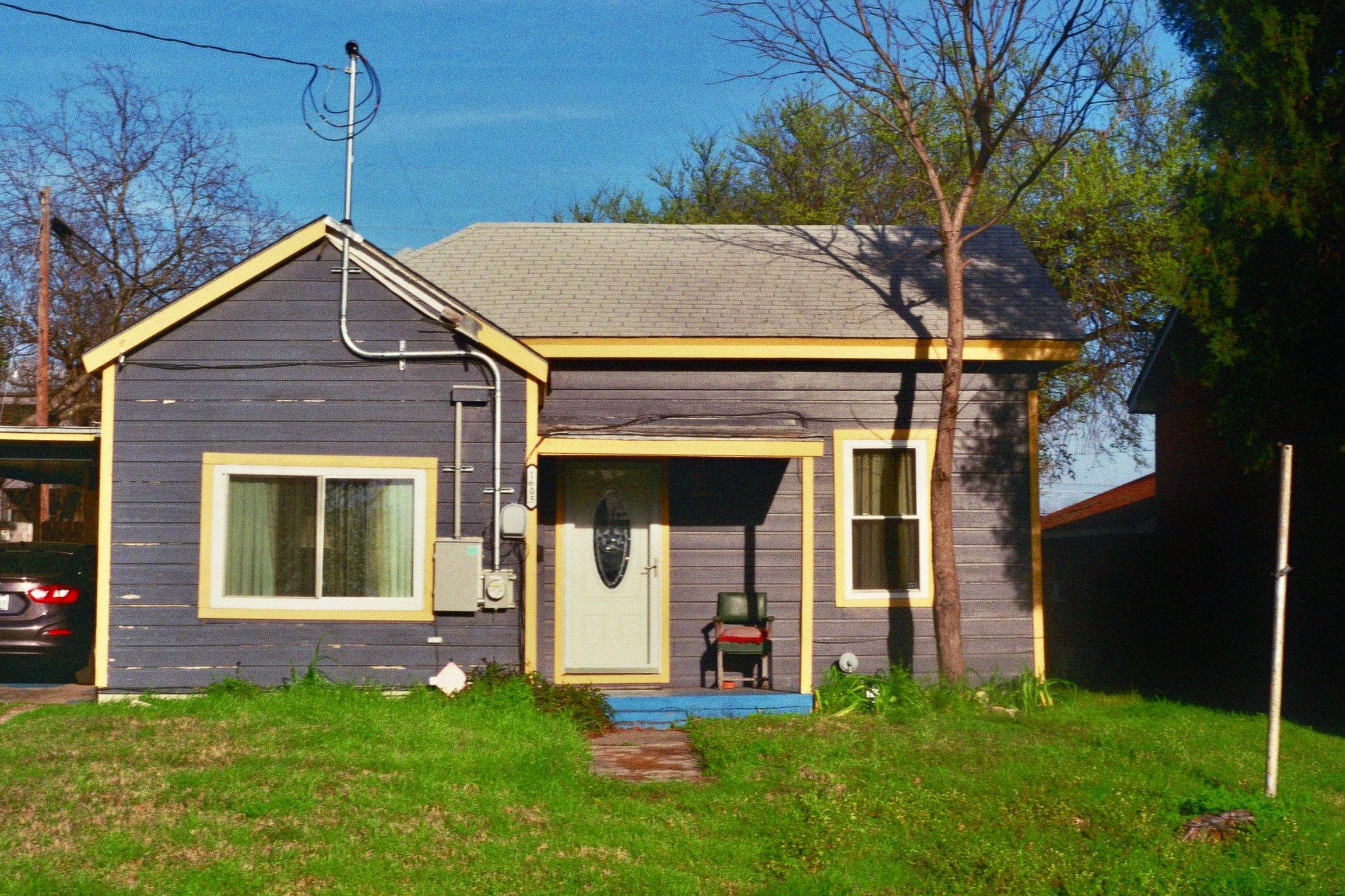 A typical home in East Austin.  Austin, TX