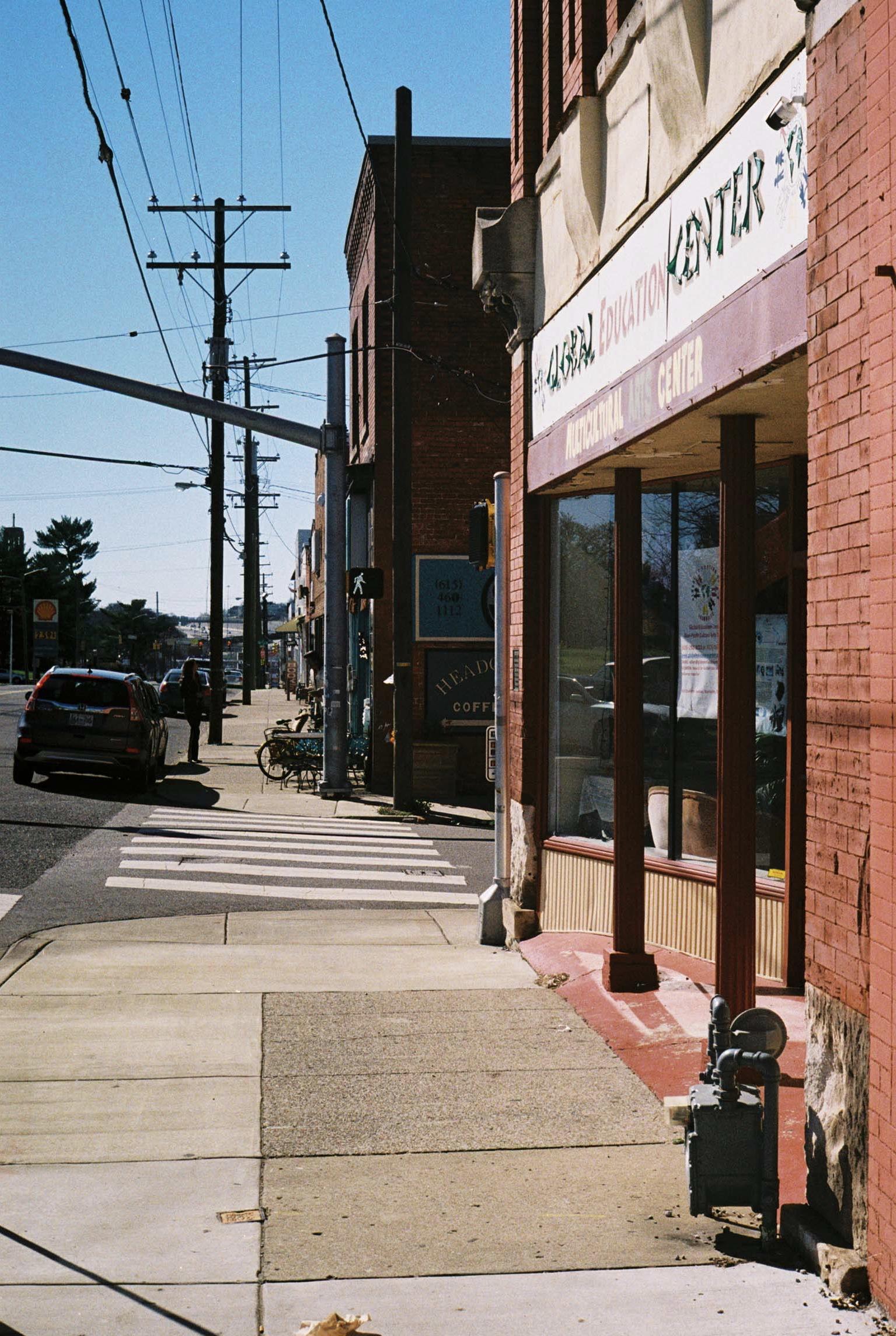 West Nashville.  Tennessee.  Kodak Ultra Max 400. Pentax K1000. Fletcher Berryman 2019.