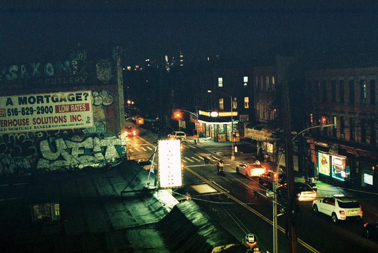 Ridgewood, Queens.   Kodak Portra 800. Pentax K1000. Fletcher Berryman 2019.