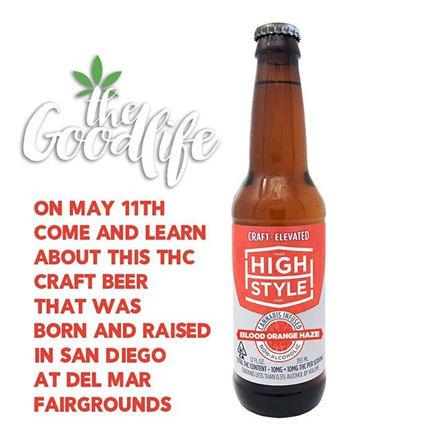 We are excited to have High Style brewing at our Goodlife Cannabis Seminar Series presented by Torrey Holistics. Come find out why these crafted brews are hydrating, refreshing, energizing and elevating