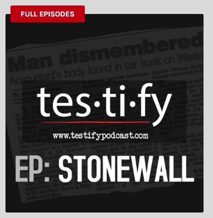 'Testify' is a true-crime podcast produced in El Paso, TX.