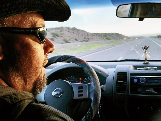 John Ryan drives north, in search of Forrest Fenn's gold.