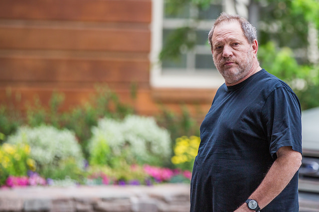Harvey Weinstein  [Photo:    Thomas Hawk    on    Flickr   ]