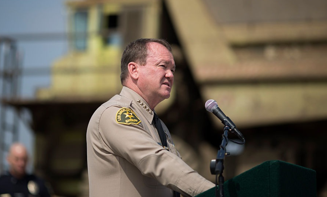 Former Los Angeles County Sheriff Jim McDonnell  [Photo: David McNew/Getty Images]