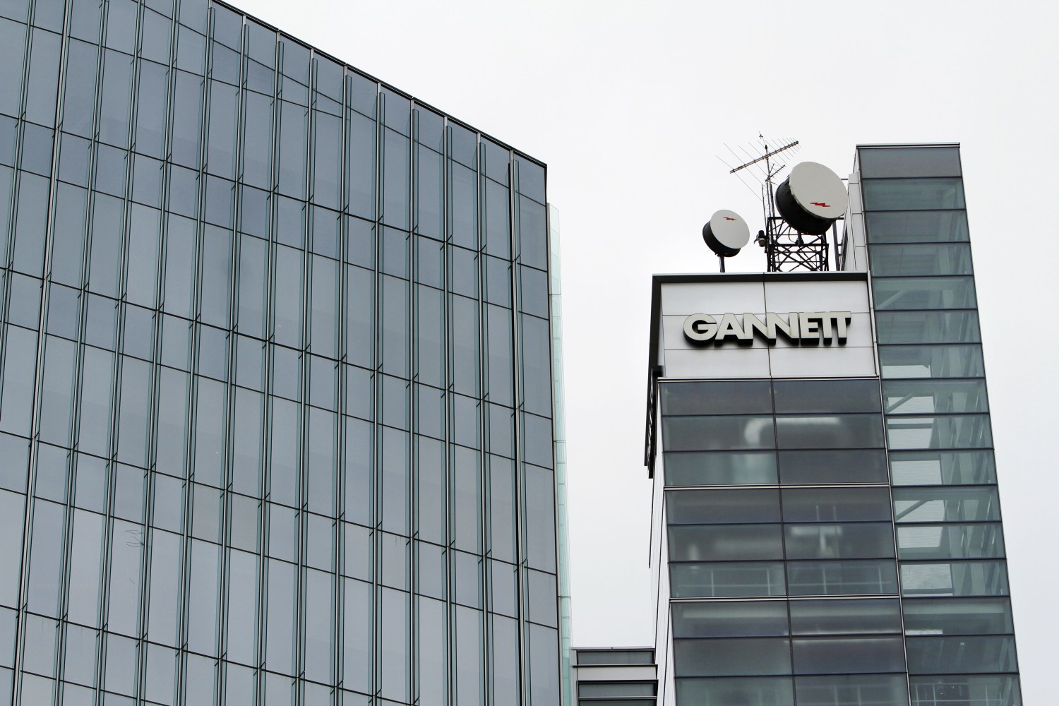 Gannett headquarters in McLean, Virginia.  [AP Photo/Jacquelyn Martin, file]