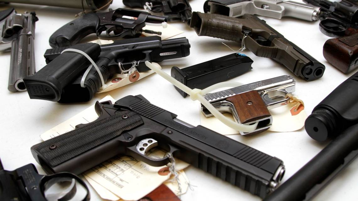 Miami-Dade has a five-day waiting period for gun sales in public places, but the county wasn't enforcing it until last year.  [Robin Trimarchi/Miami Herald File Photo   ]