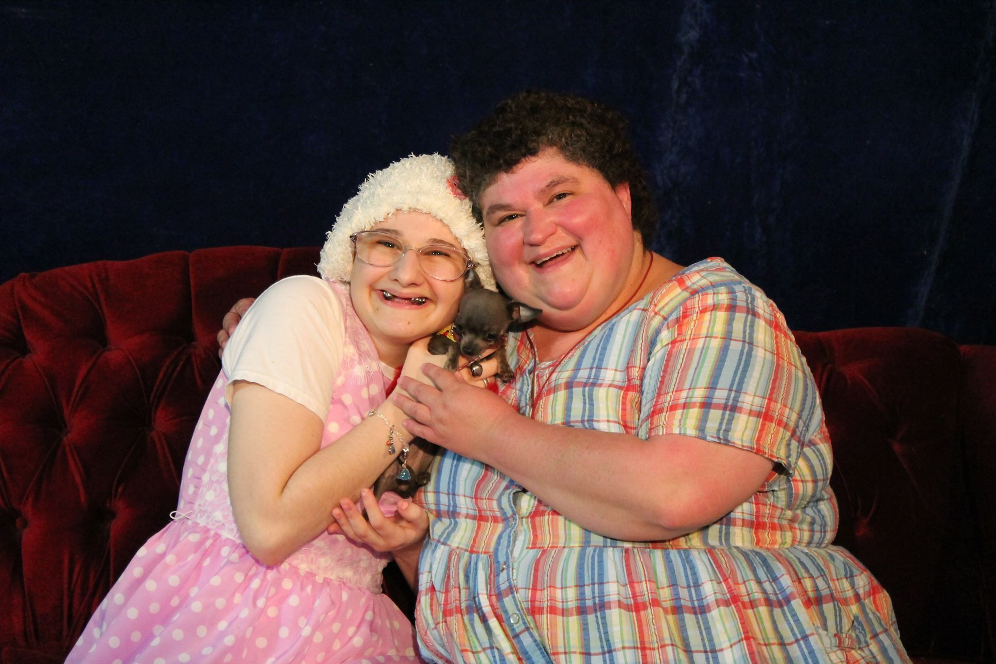Gypsy Rose Blanchard, left, with her mother Dee Dee.
