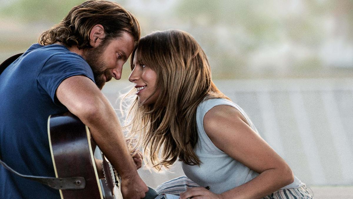 Bradley Cooper and Lady Gaga in 'A Star is Born.'