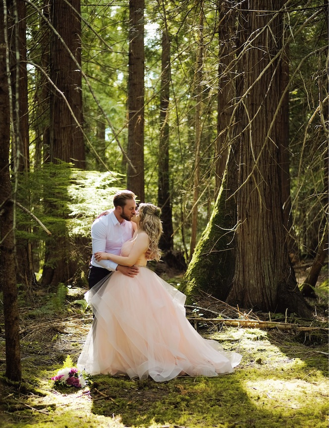 A Forest Backdrop - For your perfect romantic photo