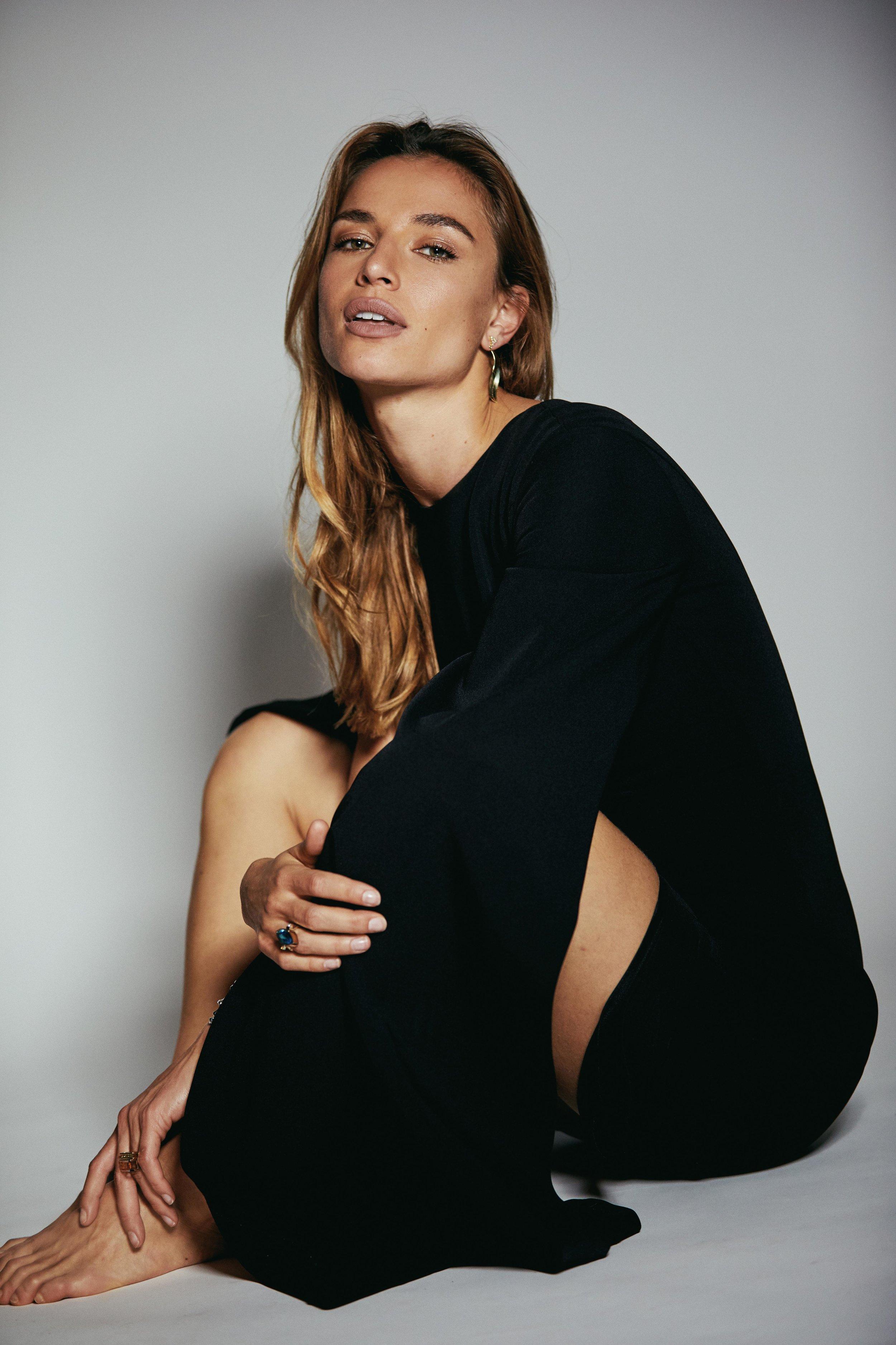 Earrings by Pina Studio; Ring by Elena Kriegner