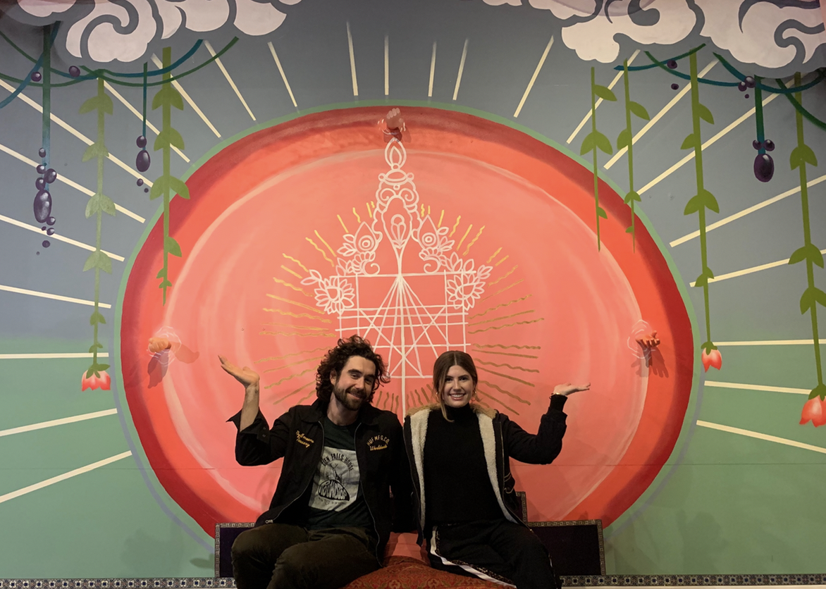 Gabe Kennedy (Plant People) with Chloe Wilson (White Label)