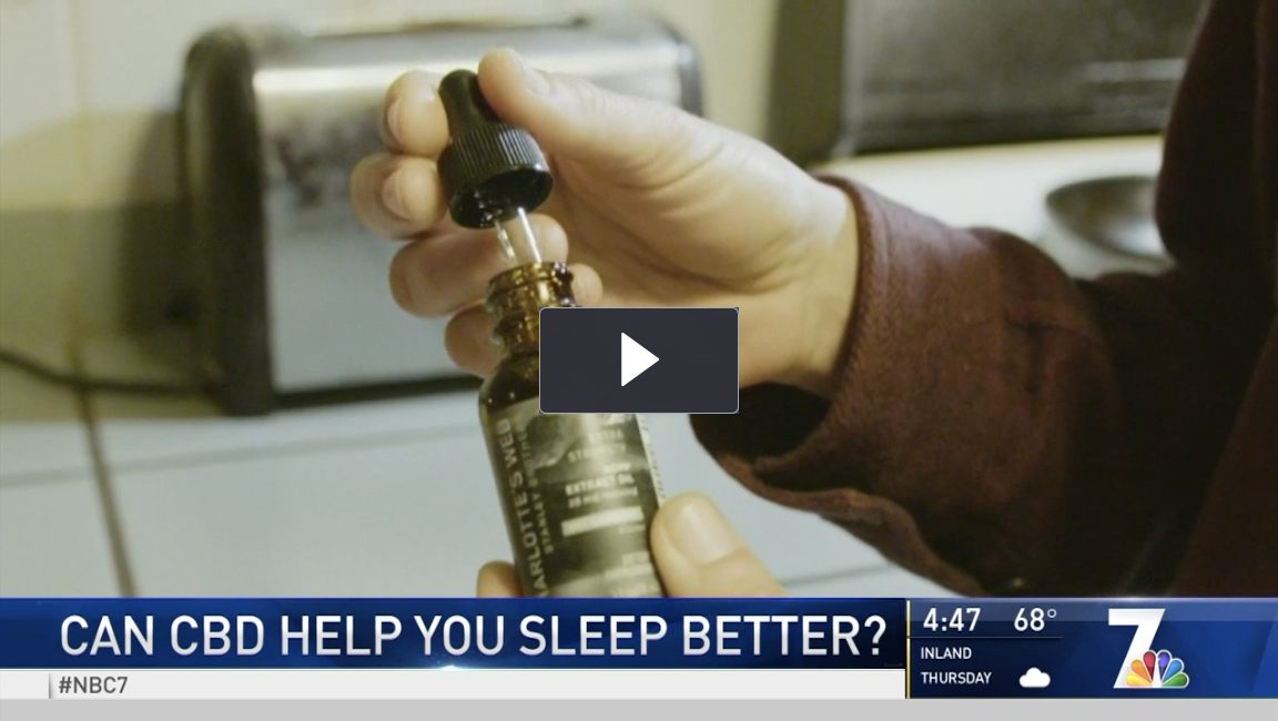 CBD San Diego NEWS - SLEEP AID