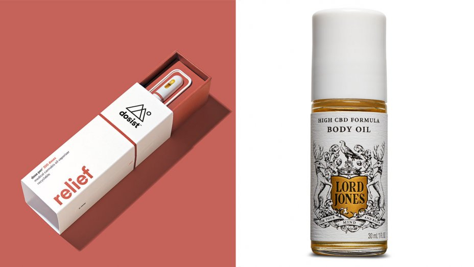 Courtesy of Brands  Dosist relief; Lord Jones body oil