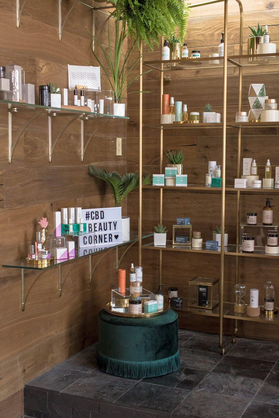 The CBD Beauty Corner opens on Saturday, May 11 at The Salon Project in Saks Fifth Avenue's NYC flagship.  CASSELL A. FERERE