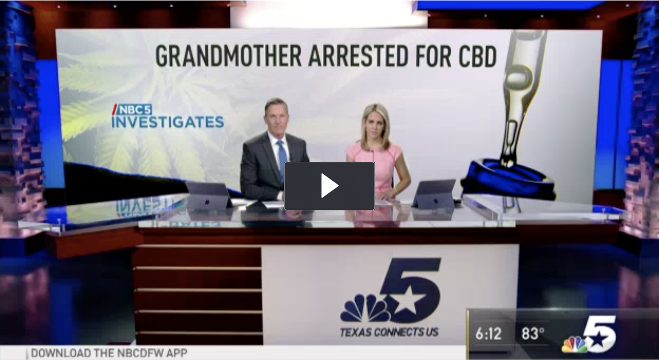 Police officers slapped handcuffs on 71-year-old Lena Bartula at Dallas/Fort Worth International Airport after they found CBD oil in her travel bag. Now she's talking about her two nights in jail.