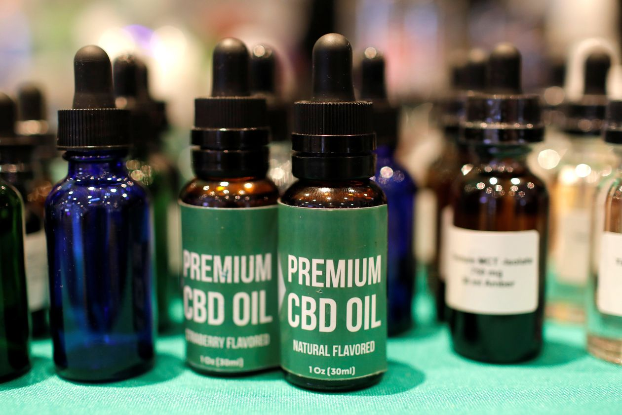 Cannabidiol advocates claim the nonpsychoactive ingredient of marijuana can treat maladies including anxiety and arthritis. PHOTO: MIKE SEGAR/REUTERS