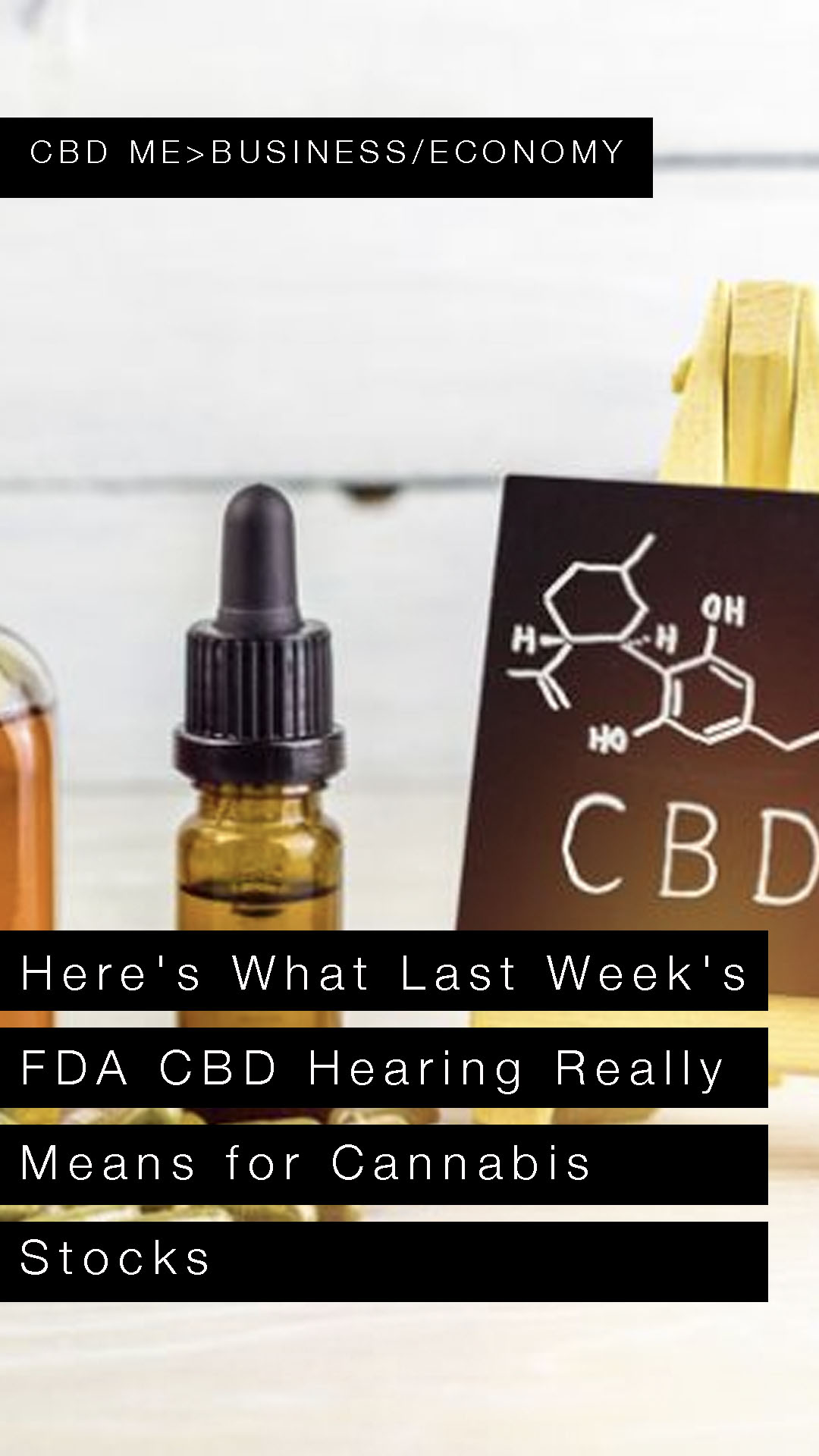 Here's What Last Week's FDA CBD Hearing Really Means for Cannabis Stocks | YAHOO FINANCE