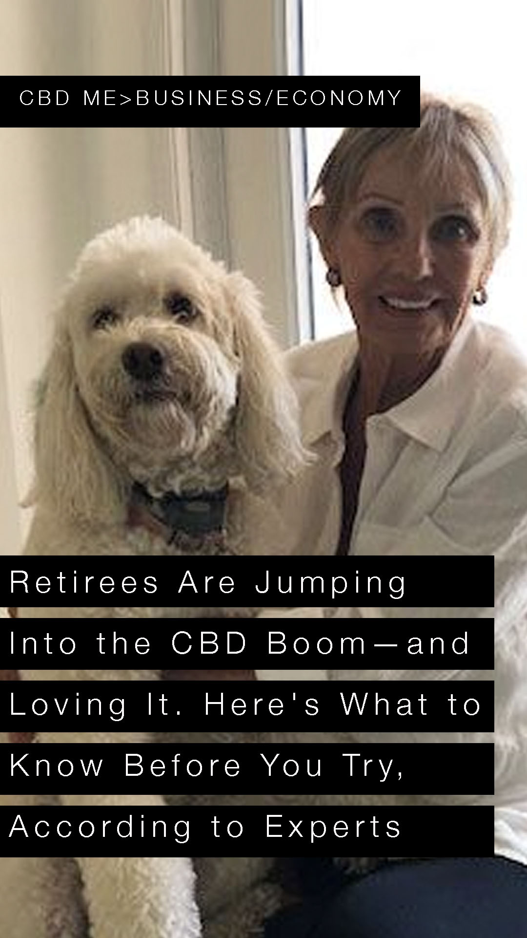 Retirees Are Jumping Into the CBD Boom—and Loving It. Here's What to Know Before You Try, According to Experts | YAHOO FINANCE