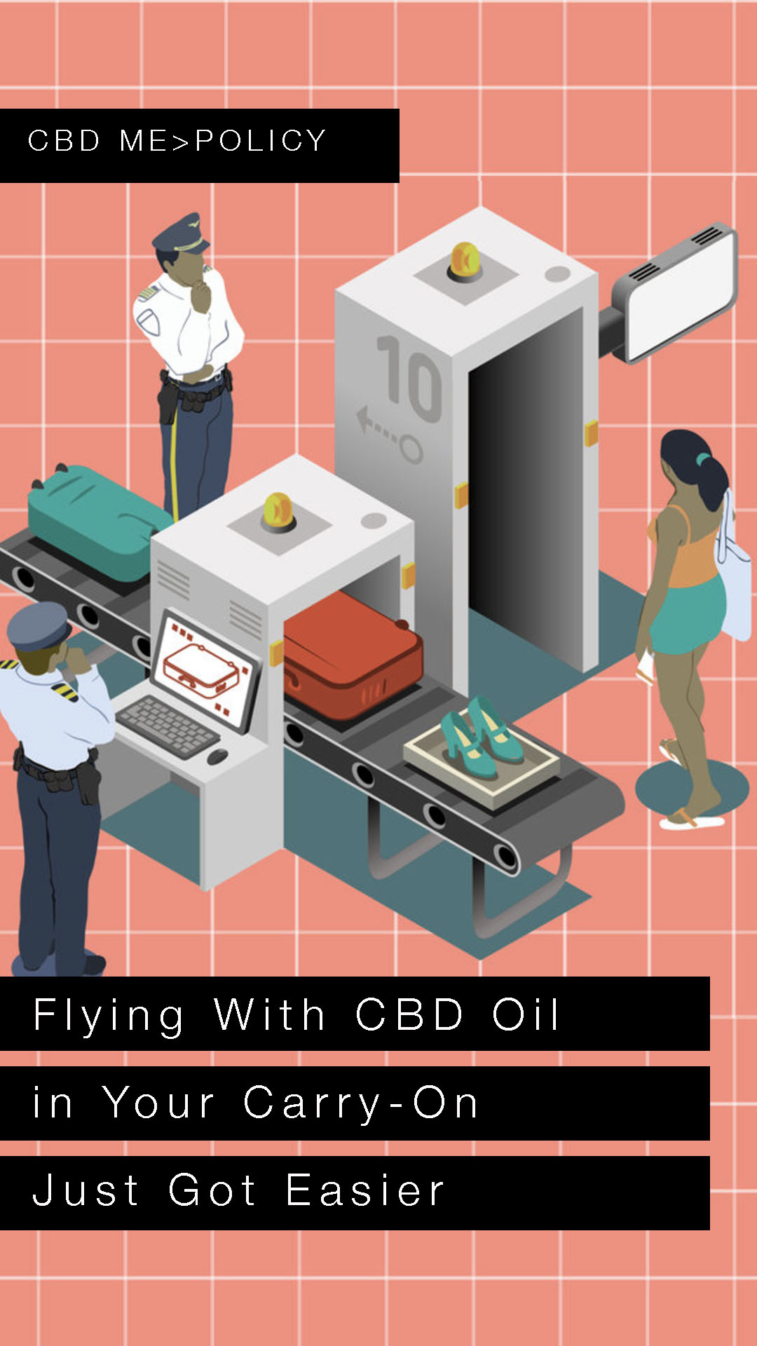 Flying With CBD Oil in Your Carry-On Just Got Easier | REAL SIMPLE