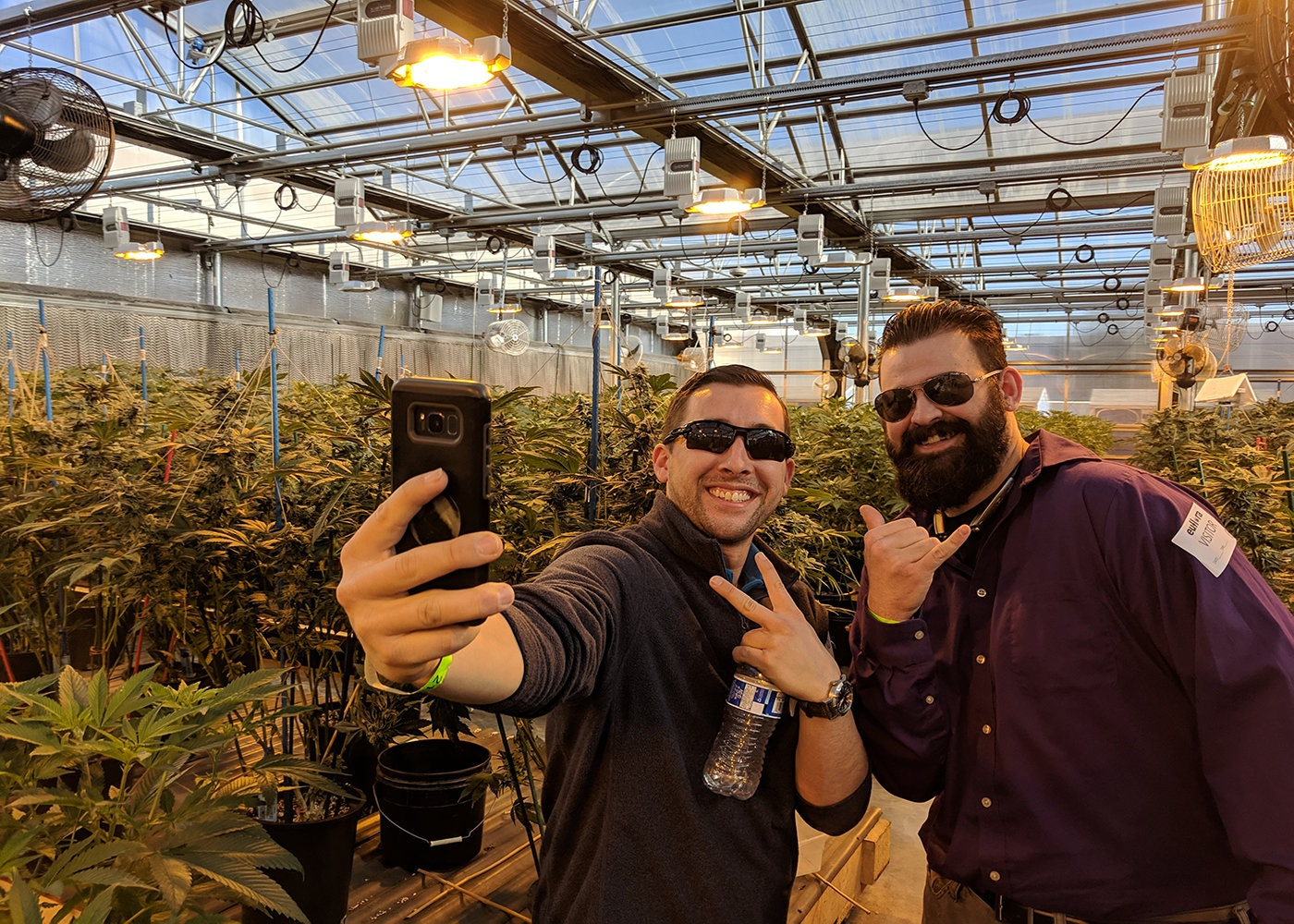 On a cannabis tour in Colorado with My 420 tours.CreditCreditMy 420 Tours