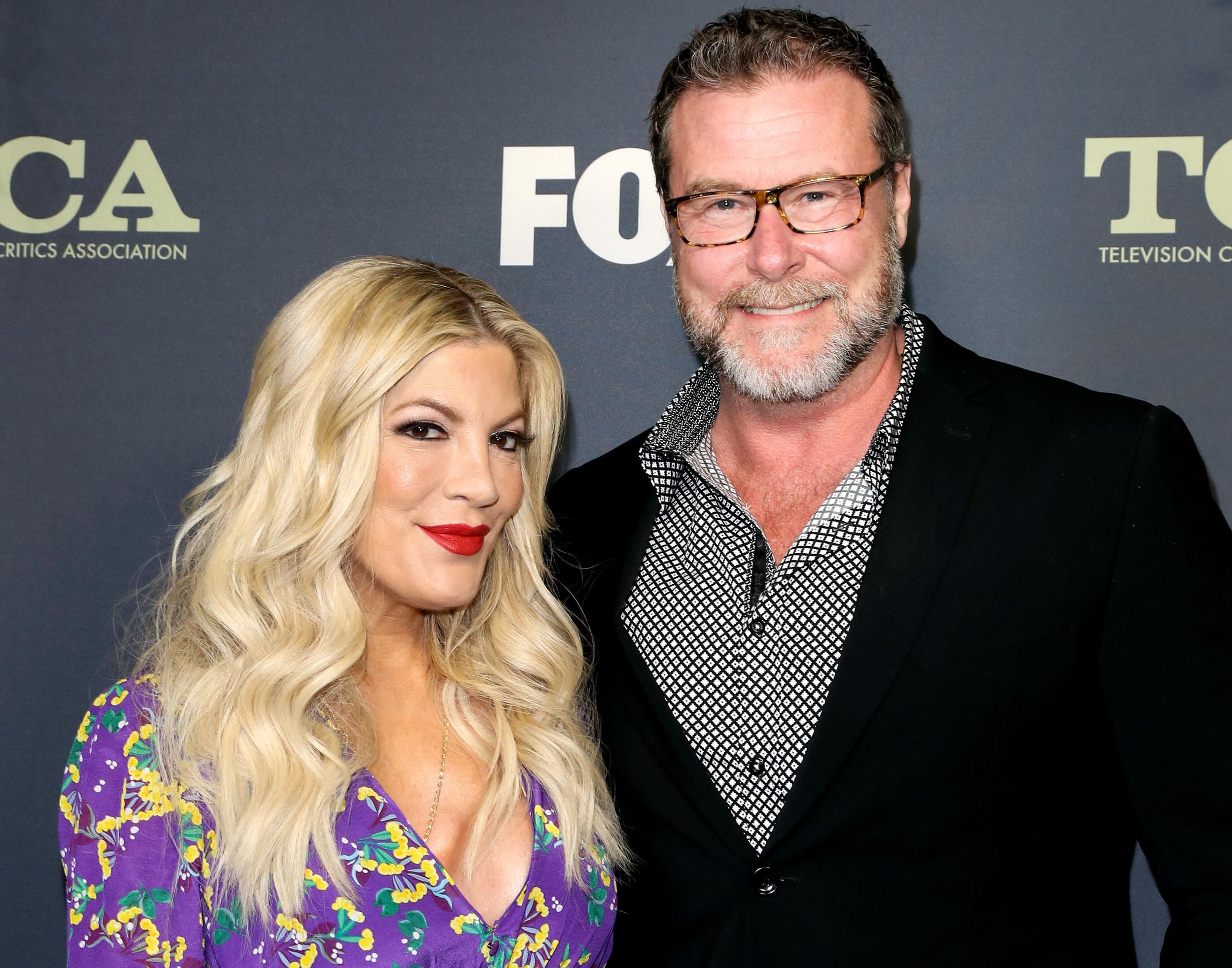 Tori Spelling and Dean McDermott - IMAGE: PAUL ARCHULETA/FILMMAGIC