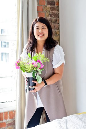 Cindy Lin, founder of Staged4more