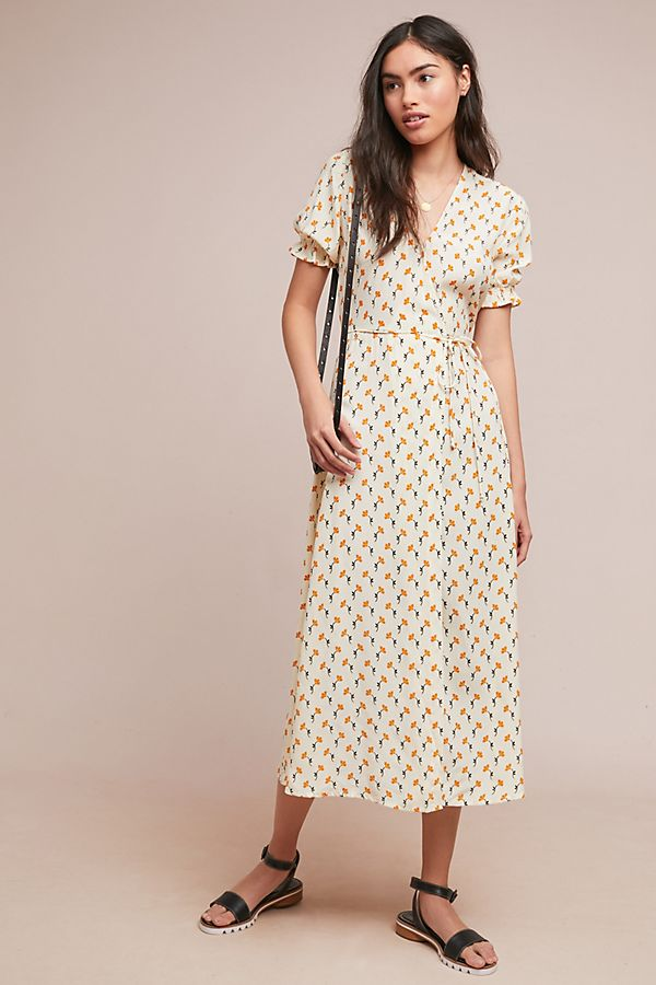 10. Floral Wrap Dress - I'm just such a sucker for florals and this design is so simple and delicate.Shop it here.
